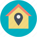 gps, housing society, navigations, real estate, residential area icon