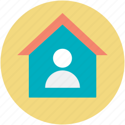 agent, homeowner, real estate, realtor, renter icon