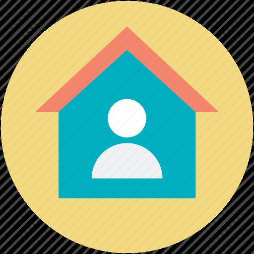 agent, homeowner, real estate, realtor, renter icon