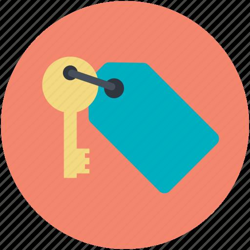 key, keychain, keyring, rent, sale icon