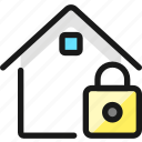 real, estate, action, house, lock