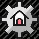 real, house, estate, settings