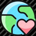earth, heart
