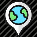 pin, earth