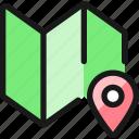 maps, pin