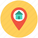 house home map location, house location, housing society, map pointer house icon