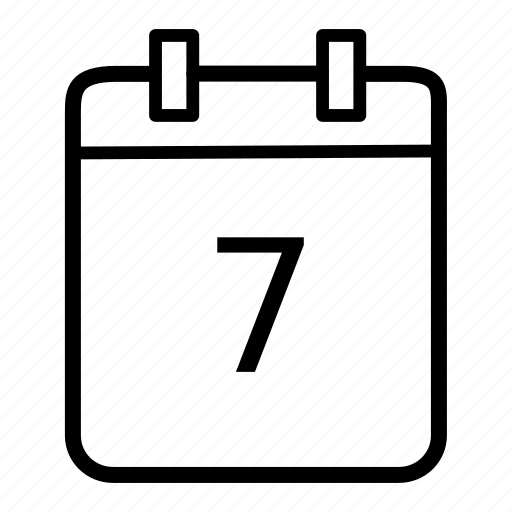 calender, date, day, month, schedule, time, timetable icon