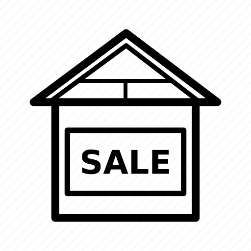 home, house, real estate, rent, rent home, sale, sold icon
