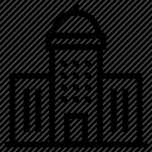 architecture, building, city, condominium, office, skyscraper, tower icon