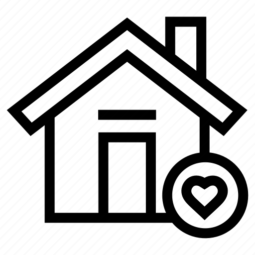 bookmark, estate, favorite, home, house, property, real icon