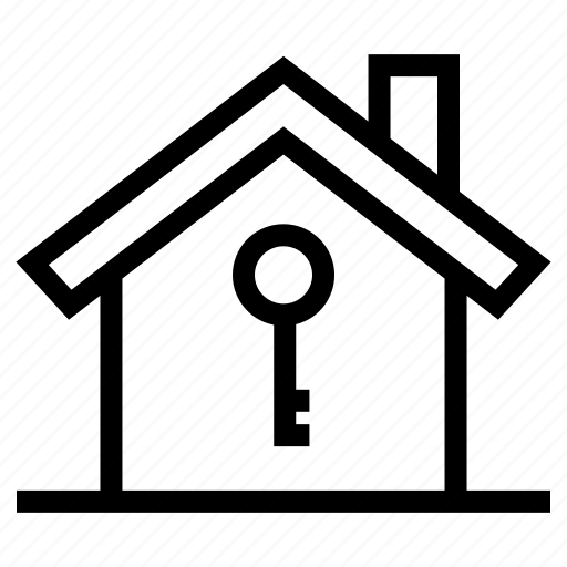 house, key, password, property, safety, secure, security icon