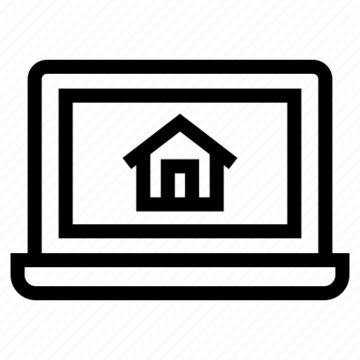 business, estate, house, online, property, real, shopping icon