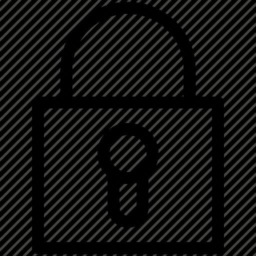 Locked, padlock, padlock locked, private, secure icon - Download on Iconfinder