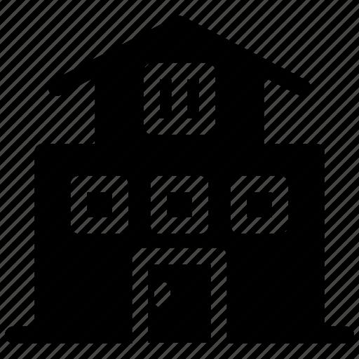 home, house, luxury, villa icon