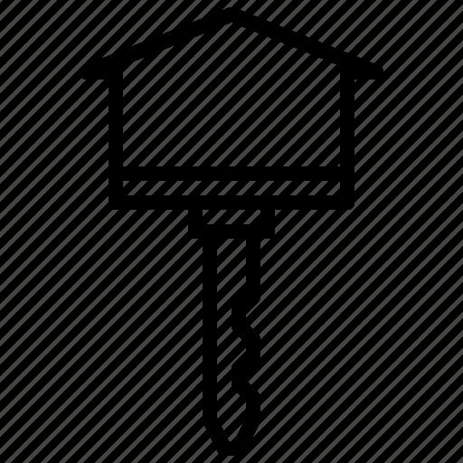home, house, key, keyword, security icon