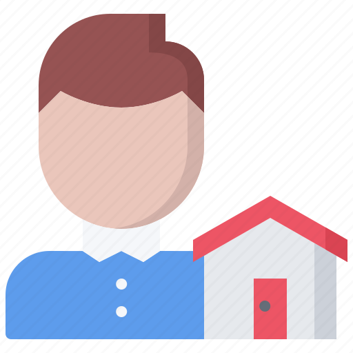 architecture, building, estate, house, real, realtor icon