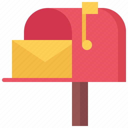 architecture, building, estate, house, mail, mailbox, real icon
