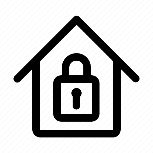 estate, lock, real icon