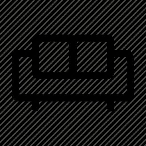 chair, seat, sofa icon