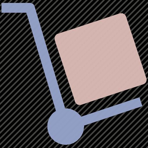 delivery, job, transport, transportation, wheelbarrow icon