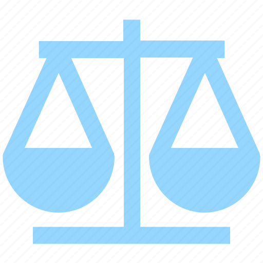 balance, court, justice, law, scale icon