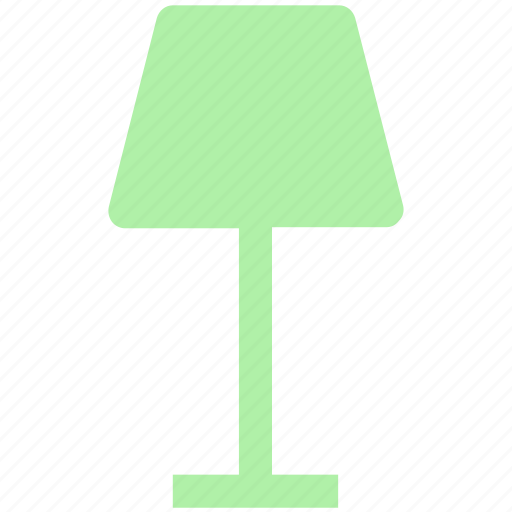 decoration, interior, lamp, light, table, table lamp icon