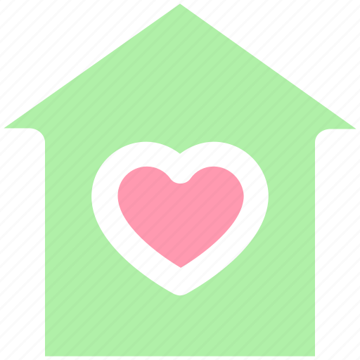 heart, home, house, love, peace, people, valentine icon
