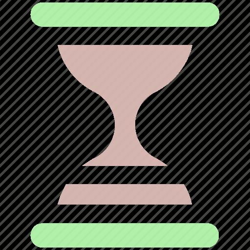 glass, hourglass, sandglass, time, timer, wait icon