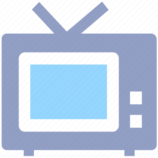 channel, retro, screen, television, tv icon