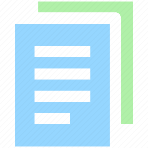documents, files, pages, papers, sheets icon
