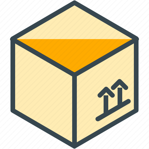 Box, real, move, shipping, estate, package icon