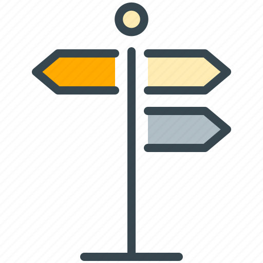 arrow, direction, directions, estate, navigation, real icon