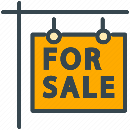 buy, estate, for, price, real, sale, sign icon