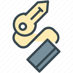 home, house, key, property, secure, security icon