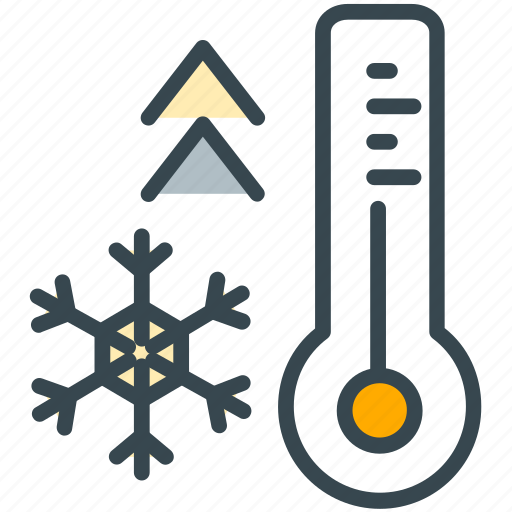 estate, real, temperature, thermostat, weather icon