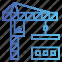 building, construction, crane, estate, real
