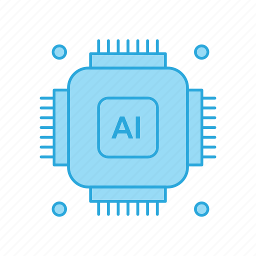 Artificial, chip, gear, intelligence icon - Download on Iconfinder