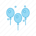 balloon, balloons, event, festive
