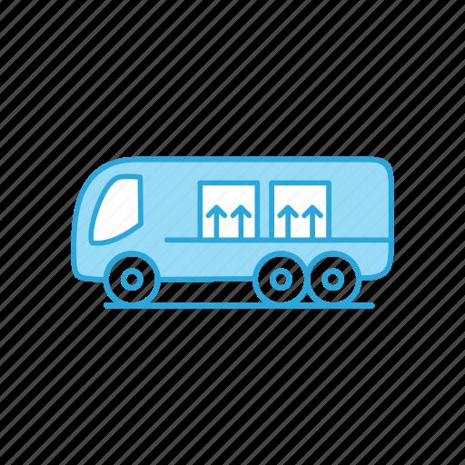 Bus, public, transportation icon - Download on Iconfinder