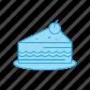 birthday, cake, dessert, food, muffin