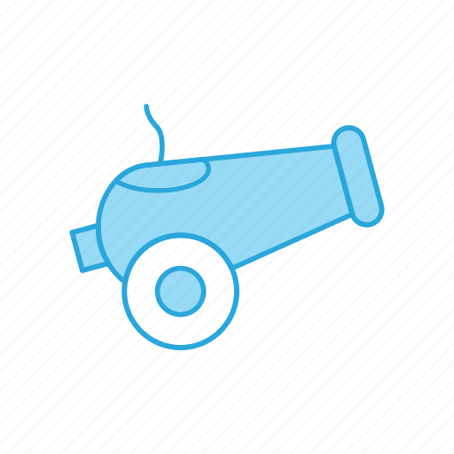 Cannon, gun, military icon - Download on Iconfinder