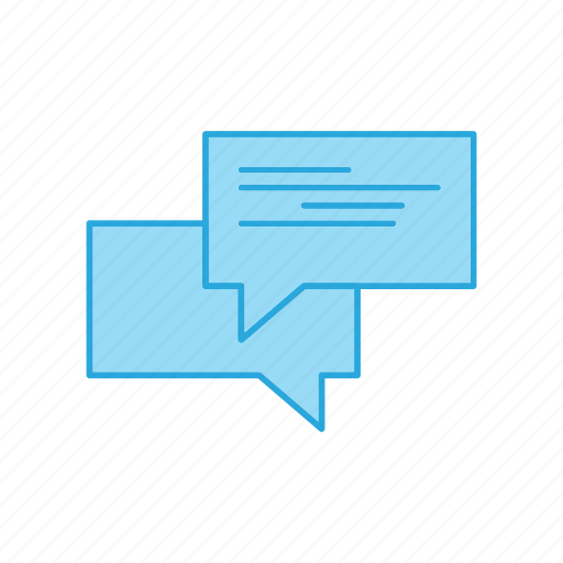 Chat, chatting, talk, talking icon - Download on Iconfinder