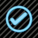 checklist, chek, confirm, mark, success, tick icon