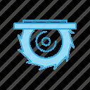 circular, cutter, saw icon
