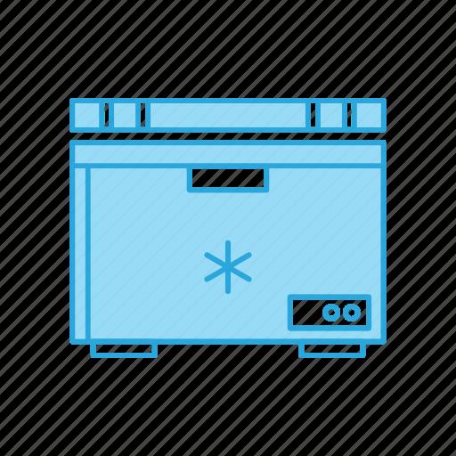 cooling, deep, freezer, fridge, icebox, refrigerator icon
