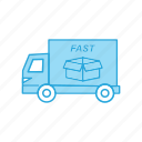 commerce, delivery, truck
