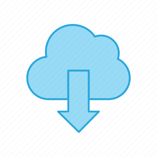 Cloud, download, weather icon - Download on Iconfinder
