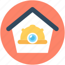 building, home, hut, labour house, house