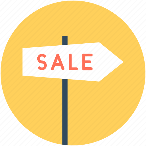 guidepost, sale, sale sign, sale signpost, signpost icon