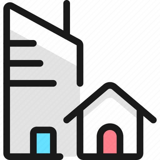 Real, estate, building, house icon - Download on Iconfinder